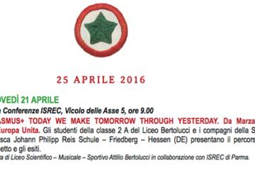 25 aprile programma